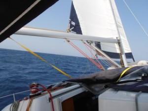 Harde wind, zeilen op de Cycladen - BQ Yachting