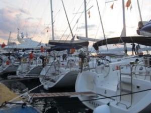 jacht aan wal, zeilen in Griekenland - Bq Yachting